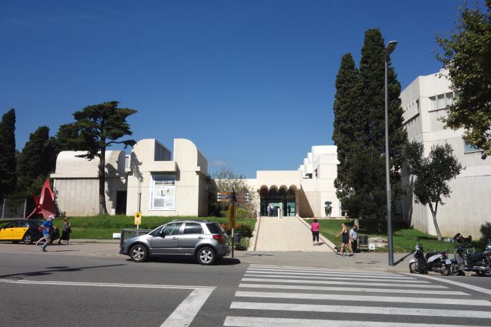 ミロ美術館 Fundació Joan Miró フニクラ Funicular De Montjuic モンジュイックの丘 2018年9月 バルセロナの旅(15)_f0117059_12315800.jpg