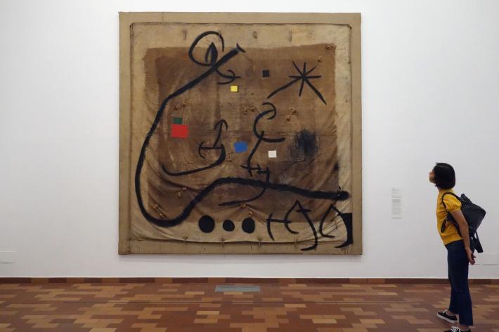 ミロ美術館 Fundació Joan Miró フニクラ Funicular De Montjuic モンジュイックの丘 2018年9月 バルセロナの旅(15)_f0117059_12320926.jpg