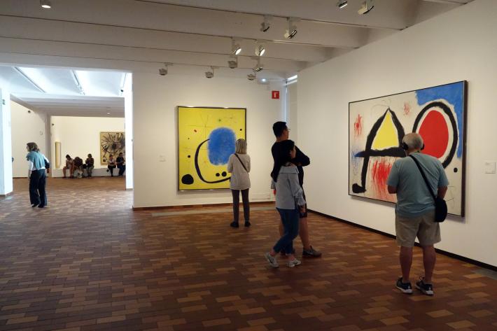 ミロ美術館 Fundació Joan Miró フニクラ Funicular De Montjuic モンジュイックの丘 2018年9月 バルセロナの旅(15)_f0117059_12325889.jpg