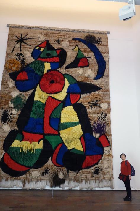 ミロ美術館 Fundació Joan Miró フニクラ Funicular De Montjuic モンジュイックの丘 2018年9月 バルセロナの旅(15)_f0117059_12330825.jpg