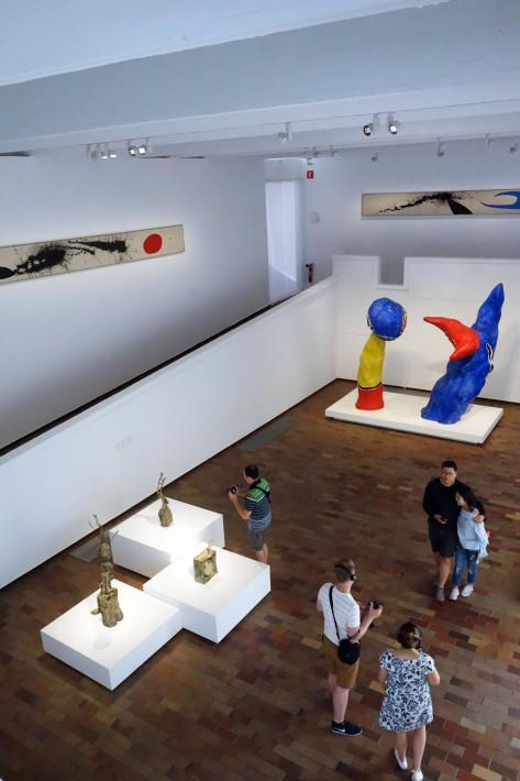 ミロ美術館 Fundació Joan Miró フニクラ Funicular De Montjuic モンジュイックの丘 2018年9月 バルセロナの旅(15)_f0117059_12331634.jpg