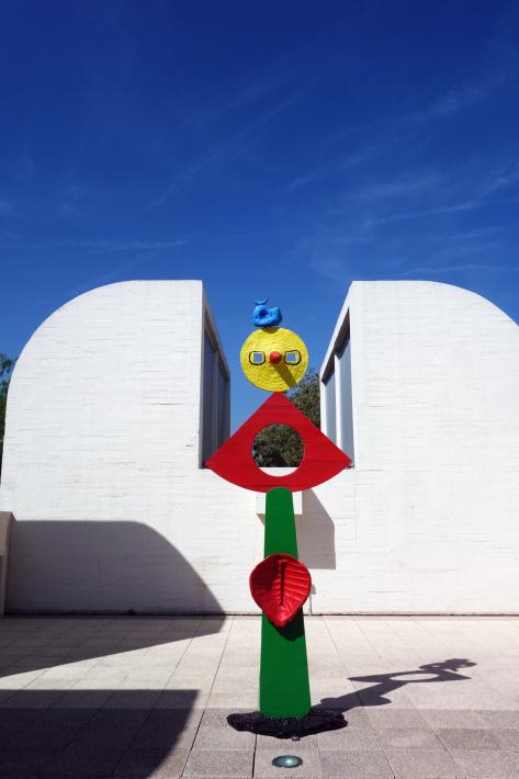 ミロ美術館 Fundació Joan Miró フニクラ Funicular De Montjuic モンジュイックの丘 2018年9月 バルセロナの旅(15)_f0117059_12332950.jpg