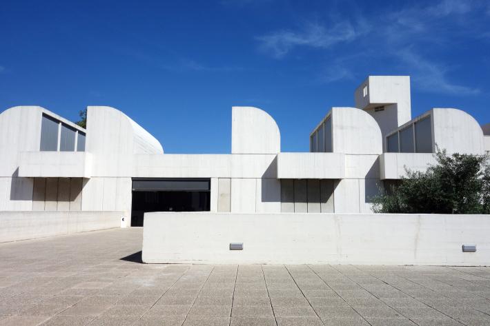 ミロ美術館 Fundació Joan Miró フニクラ Funicular De Montjuic モンジュイックの丘 2018年9月 バルセロナの旅(15)_f0117059_12333369.jpg