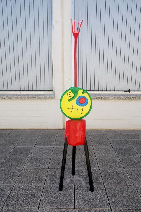 ミロ美術館 Fundació Joan Miró フニクラ Funicular De Montjuic モンジュイックの丘 2018年9月 バルセロナの旅(15)_f0117059_12334235.jpg