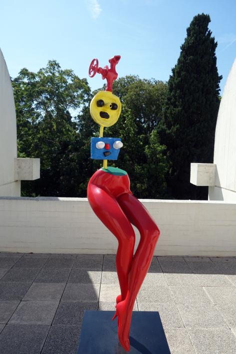 ミロ美術館 Fundació Joan Miró フニクラ Funicular De Montjuic モンジュイックの丘 2018年9月 バルセロナの旅(15)_f0117059_12334726.jpg