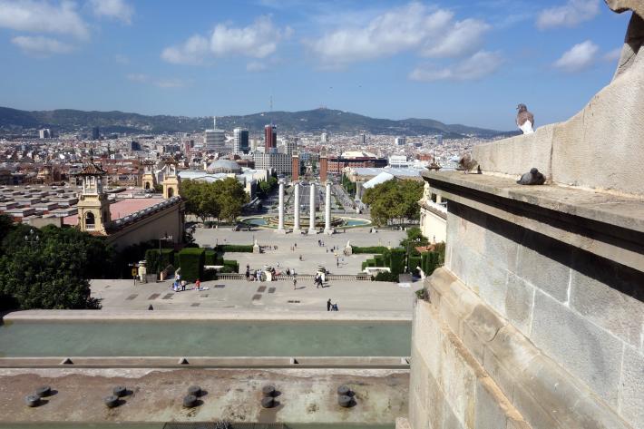ミロ美術館 Fundació Joan Miró フニクラ Funicular De Montjuic モンジュイックの丘 2018年9月 バルセロナの旅(15)_f0117059_12340136.jpg