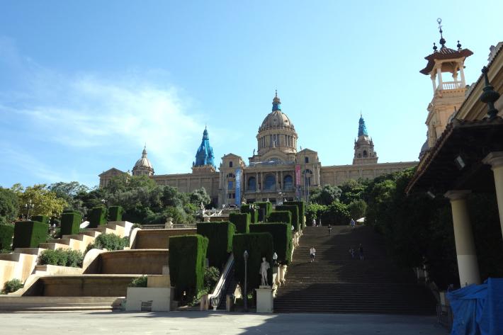 ミロ美術館 Fundació Joan Miró フニクラ Funicular De Montjuic モンジュイックの丘 2018年9月 バルセロナの旅(15)_f0117059_12341731.jpg