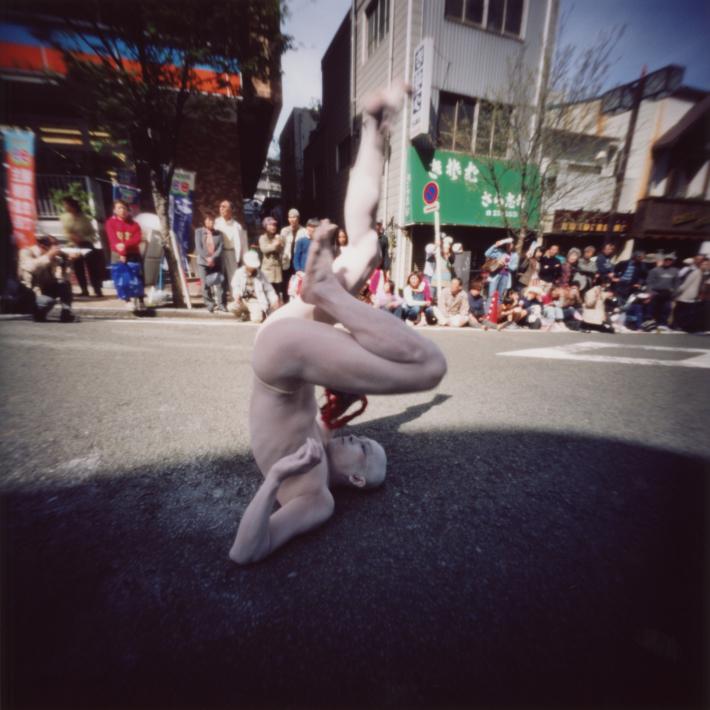 ピンホールカメラで撮った 横浜の野毛大道芸 ピンホール写真 Pinhole Photography_f0117059_14145216.jpg
