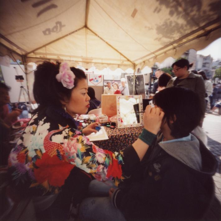 ピンホールカメラで撮った 横浜の野毛大道芸 ピンホール写真 Pinhole Photography_f0117059_14150152.jpg