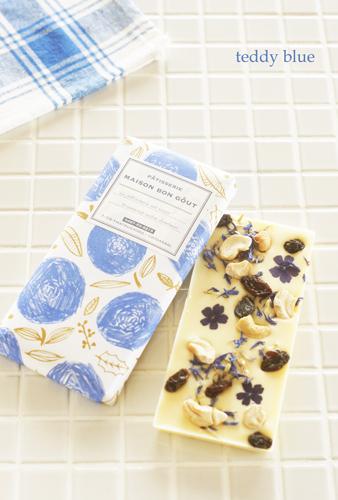 Chocolat branc with blue ショコラブランwithブルー_e0253364_10485961.jpg