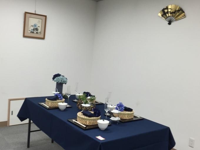 テーブルコーディネート展、終了、(集会室)_a0125981_19240394.jpg