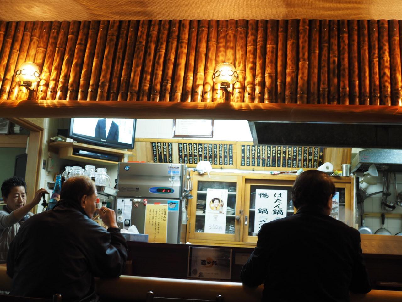 尼崎センタープールの老舗の名店・とり福さんでイノシシ鍋_f0135940_01241282.jpg