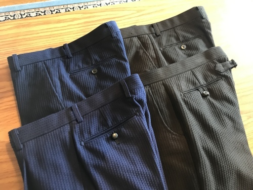 「Konya」刺子生地で料理する ~ジャケット&パンツ&ジレ~ 編_c0177259_22080622.jpeg