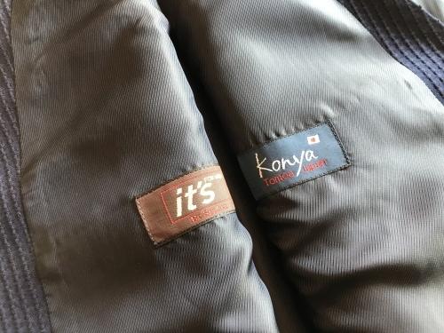 「Konya」刺子生地で料理する ~ジャケット&パンツ&ジレ~ 編_c0177259_22103811.jpeg