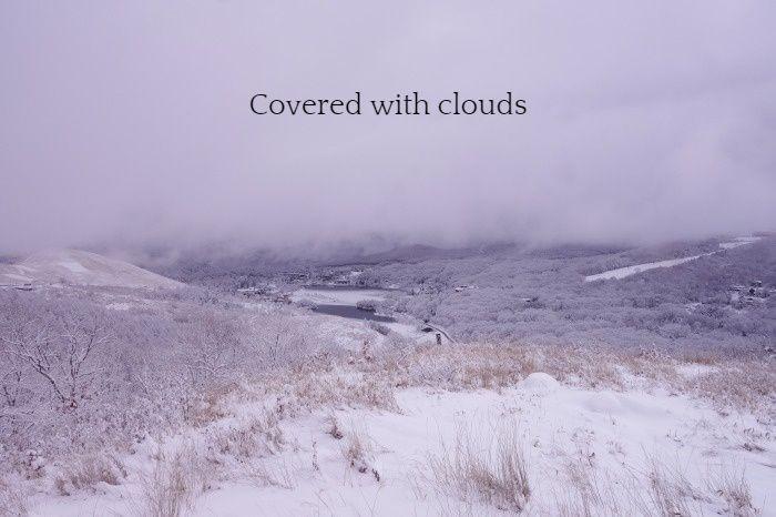 雲に覆われた蓼科山_b0341869_17130706.jpg