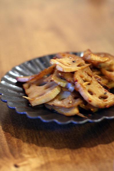 コロコロ豚焼きと葉わさびの味噌漬け_e0137277_22274288.jpg