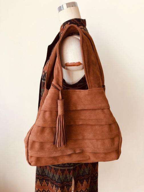 皮のコートをロングジレ&bagにリメイク!!2_d0127925_15014392.jpg