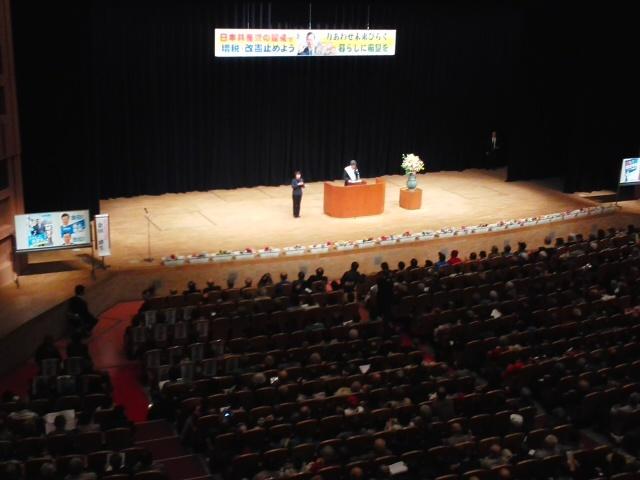 元気いっぱい 🌝🌝🌝「日本共産党演説会」志位さん・山下さん・金田さん (*^−^)ノ_f0061067_21052927.jpg