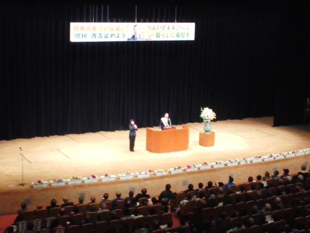 元気いっぱい 🌝🌝🌝「日本共産党演説会」志位さん・山下さん・金田さん (*^−^)ノ_f0061067_21052945.jpg