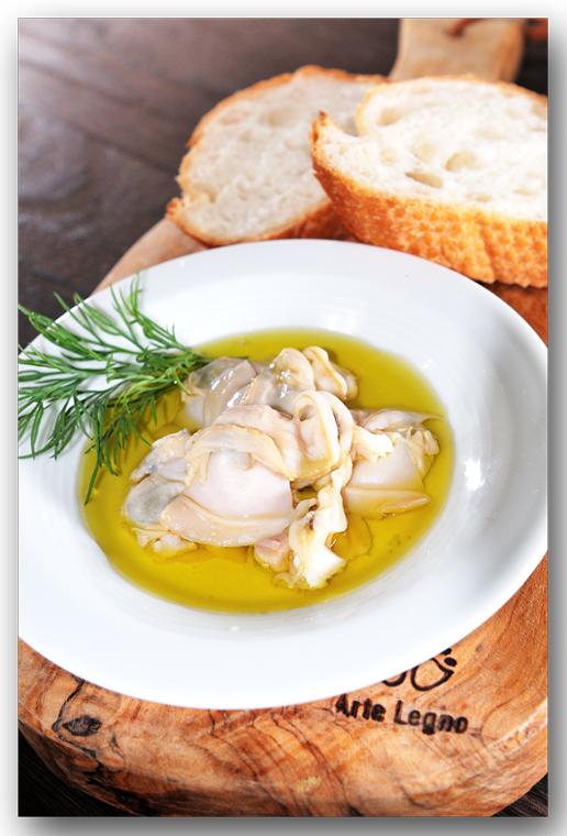 メシ通『魚介を使った簡単レシピ』 ☆ ハマグリをオイル漬けに!_d0069838_10241249.jpg