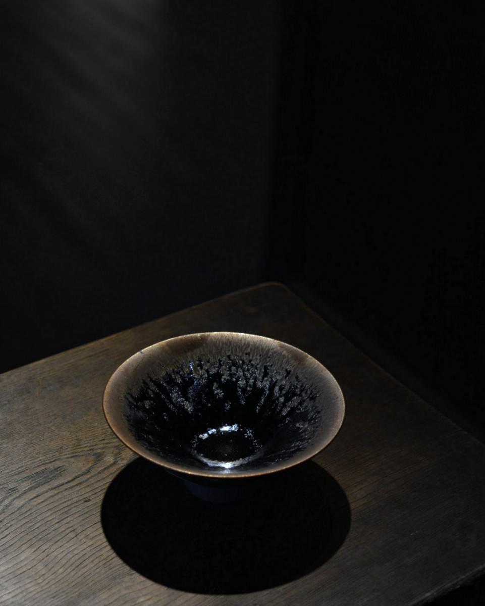「古谷宣幸 展  天目茶盌と食の器」 始まりました_d0087761_18301.jpg