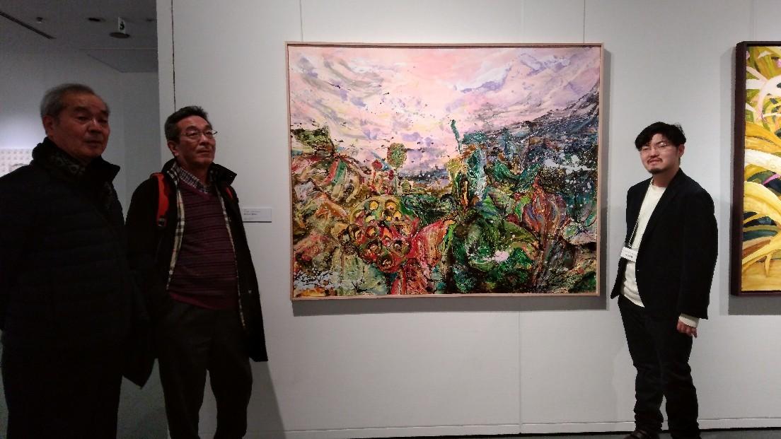 FACE2019 東郷青児記念損保ジャパン美術館にて3/30まで_d0253466_14015422.jpg