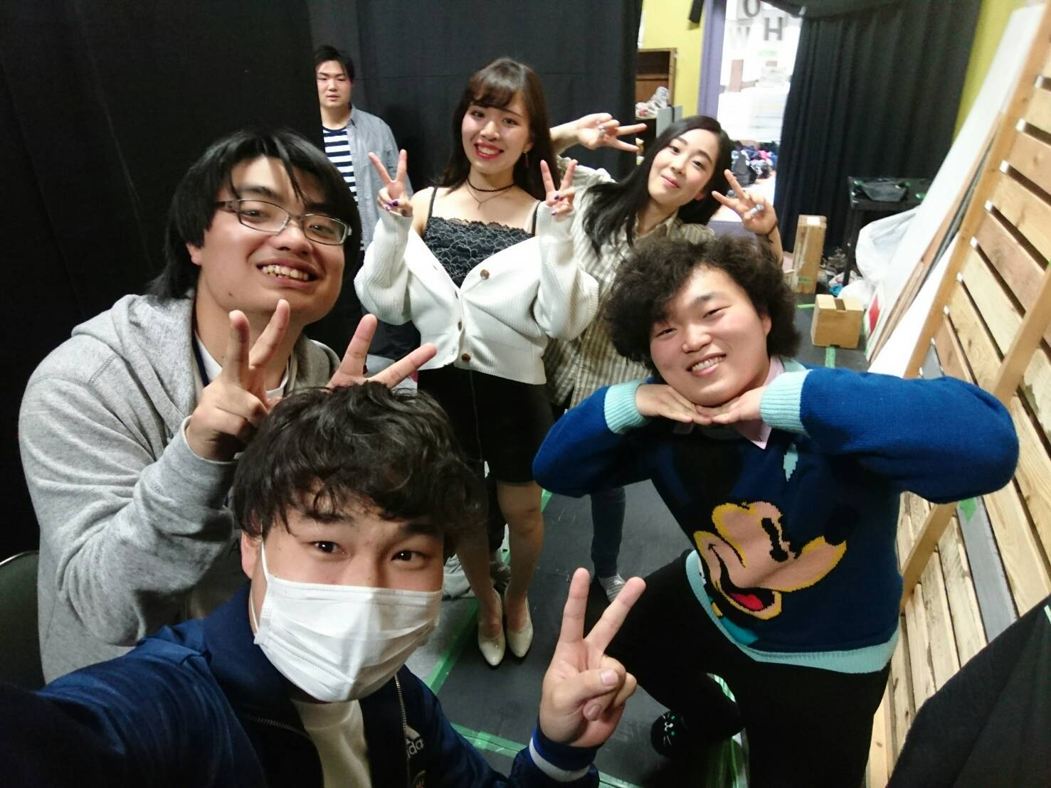 日誌 3月10日 (日) ついに開幕!3月公演初日だYO! byタケちゃん_a0137821_23241047.jpg