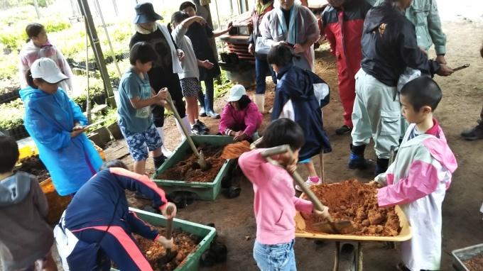 第8回くんじゃん山学校 どんぐりを植えよう!_f0121321_15574704.jpg