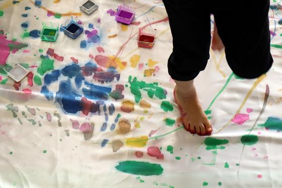 第5回こども美術教室 ~ 布に描く ~_e0222340_14462922.jpg