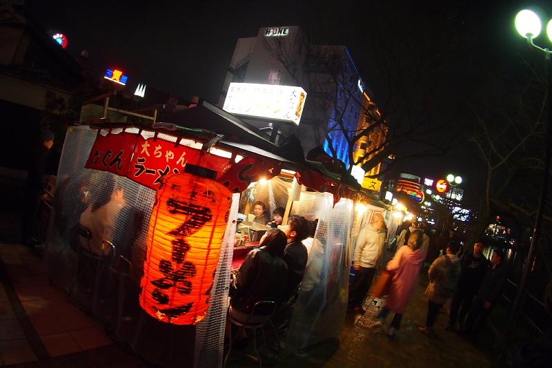 【中州の屋台】やまちゃんの長浜豚骨ラーメン_b0008655_13372097.jpg