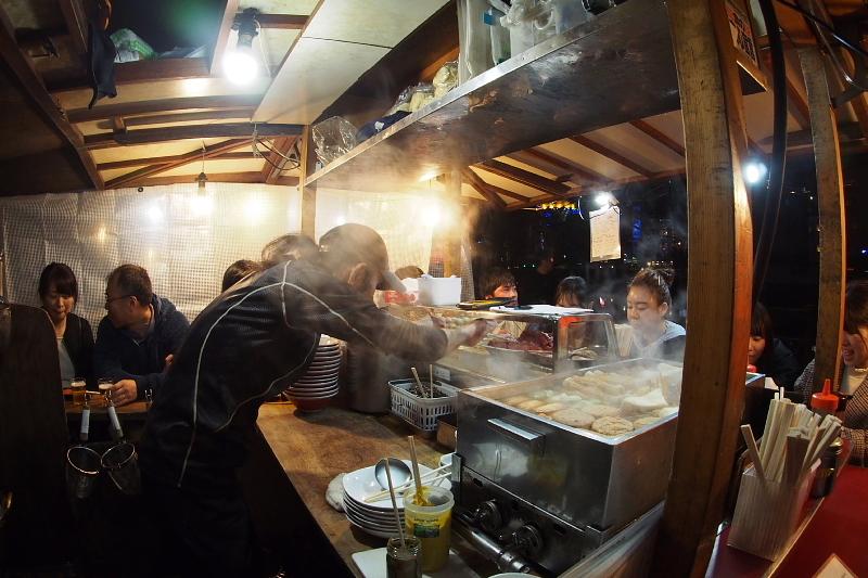 【中州の屋台】やまちゃんの長浜豚骨ラーメン_b0008655_13590087.jpg