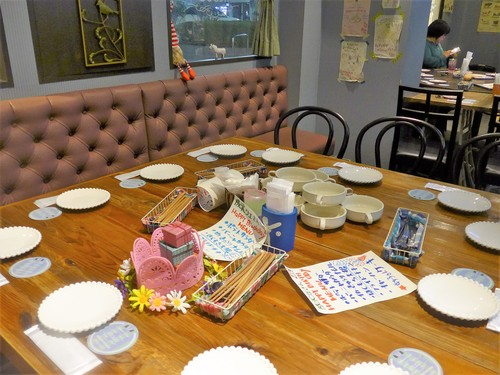 西荻窪「iitoco イイトコ」でお誕生日会をする。_f0232060_1222426.jpg