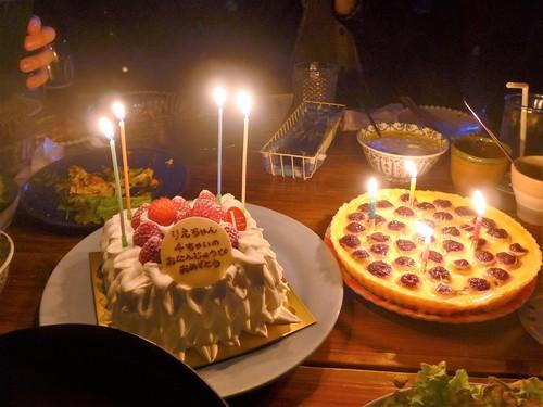 西荻窪「iitoco イイトコ」でお誕生日会をする。_f0232060_12484725.jpg