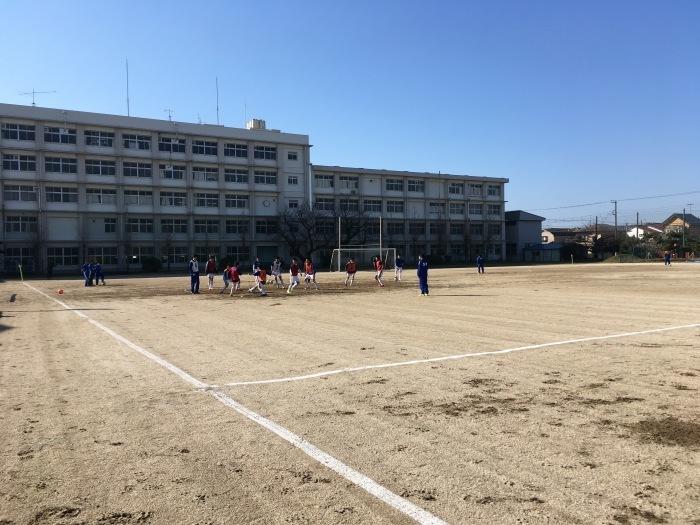 練習試合vs湘南高校_a0109270_20374402.jpg