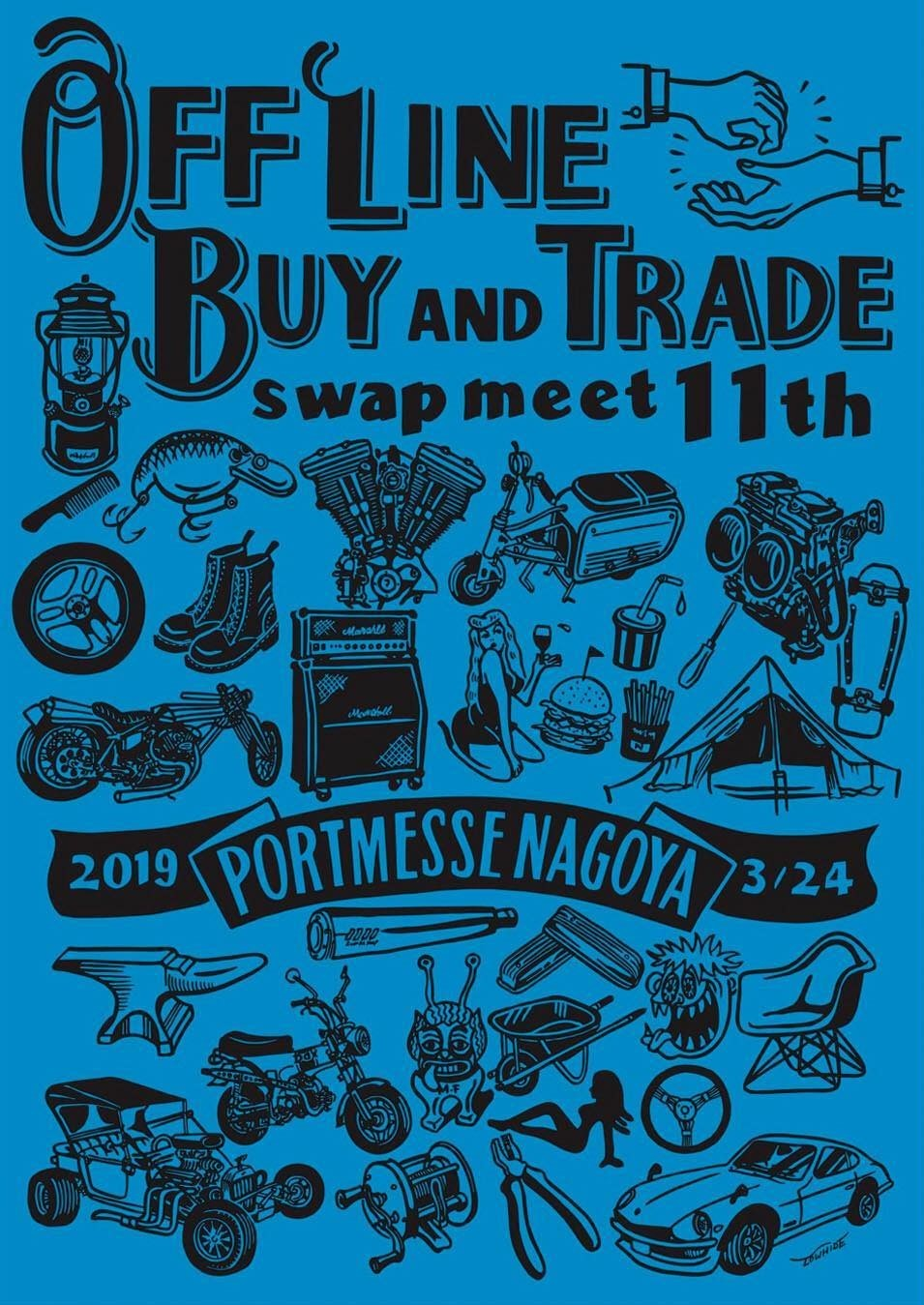 OFF LINE BUY AND TRADE 11th 出店のお知らせ _e0379485_18283499.jpg