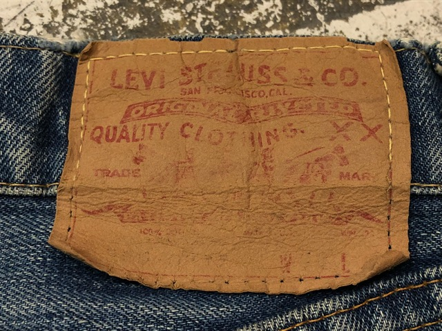 Vintage Levi\'s Denim&Leather Bottoms!!(マグネッツ大阪アメ村店)_c0078587_20225425.jpg