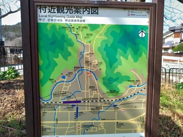 2019早春の京都と大津をめぐる (6) 石山寺に行き、山科で散歩する_f0100593_19151438.jpg