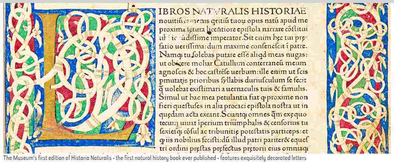 プリニウスの「博物誌」の初版本がデジタル化されて公開されていた_c0025115_22280430.jpg