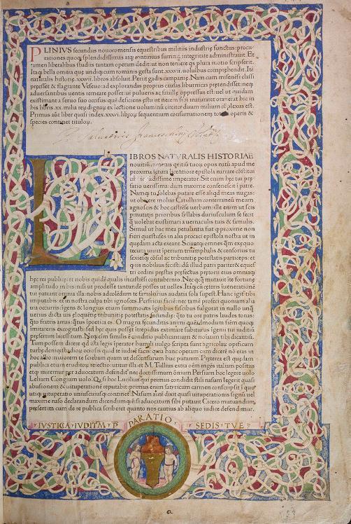 プリニウスの「博物誌」の初版本がデジタル化されて公開されていた_c0025115_22330845.jpg