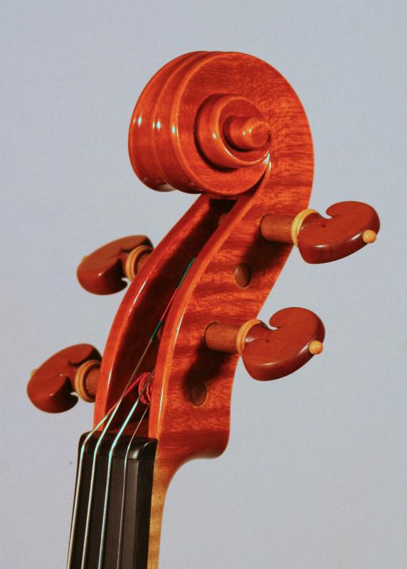 """2011年 ヴァイオリン ストラドモデル \""""1705\""""_a0197551_05202591.jpg"""