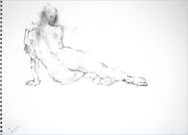 《 弥生三月裸婦素描 2 》_f0159856_07274074.jpg