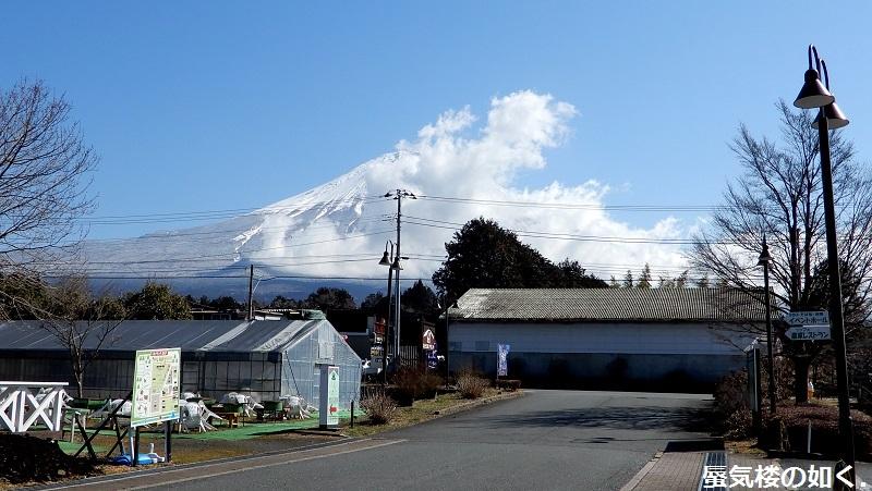 静岡県の大倉川農地防災ダムへ~ 絶景、雄大な富士山に見守られたダム ~(ダムカード1枚ゲット)_e0304702_18261638.jpg
