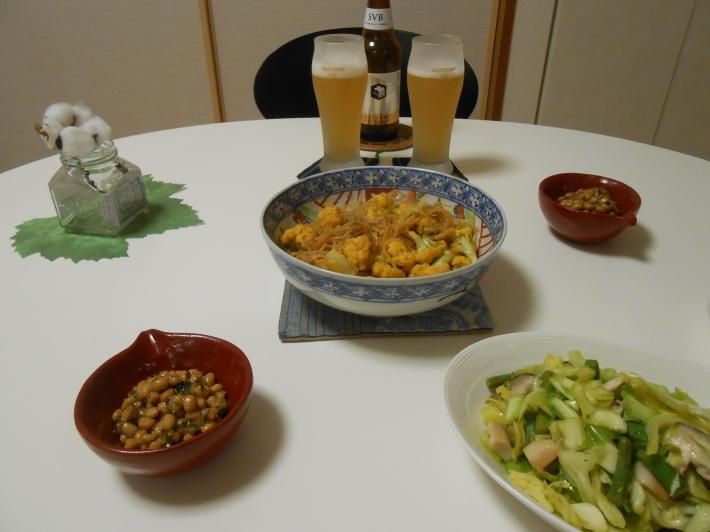 牛肉ざんまい宴会の余禄です。次の日の自宅ご飯_a0095931_21112057.jpg