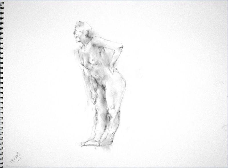 《 弥生三月裸婦素描 3 》_f0159856_07425931.jpg