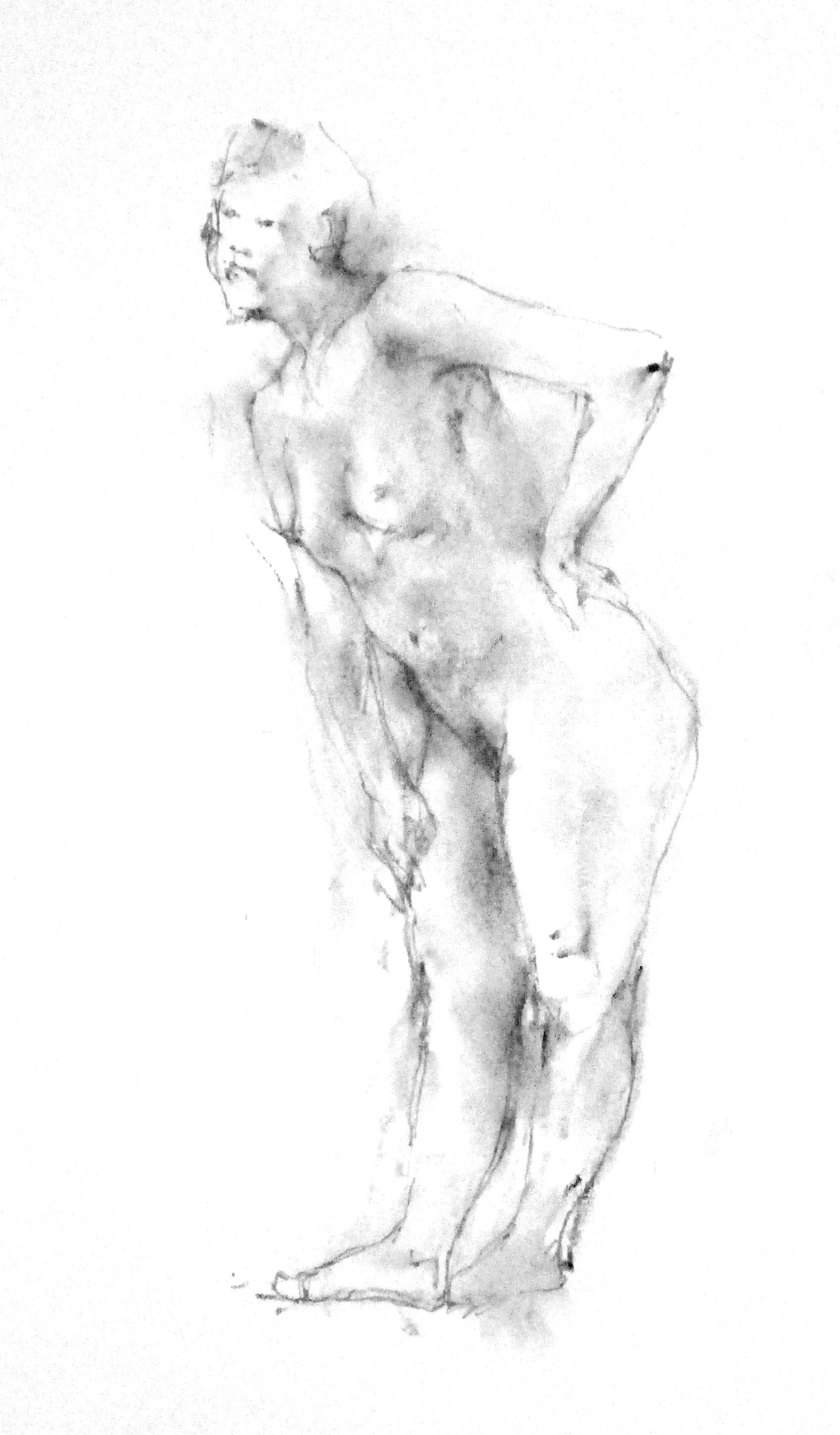 《 弥生三月裸婦素描 3 》_f0159856_07462329.jpg