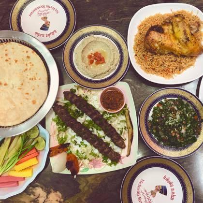 エジプト料理「NEFERTITI」@ナナ_f0044063_16132553.jpg