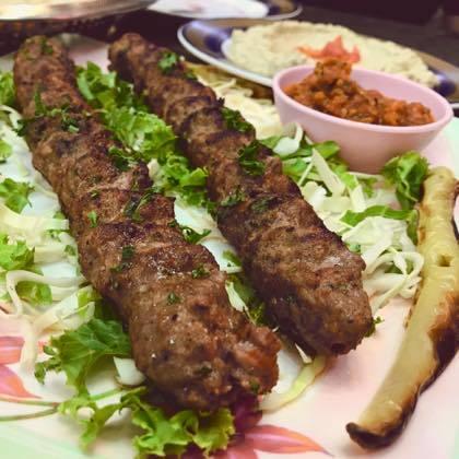 エジプト料理「NEFERTITI」@ナナ_f0044063_16133607.jpg