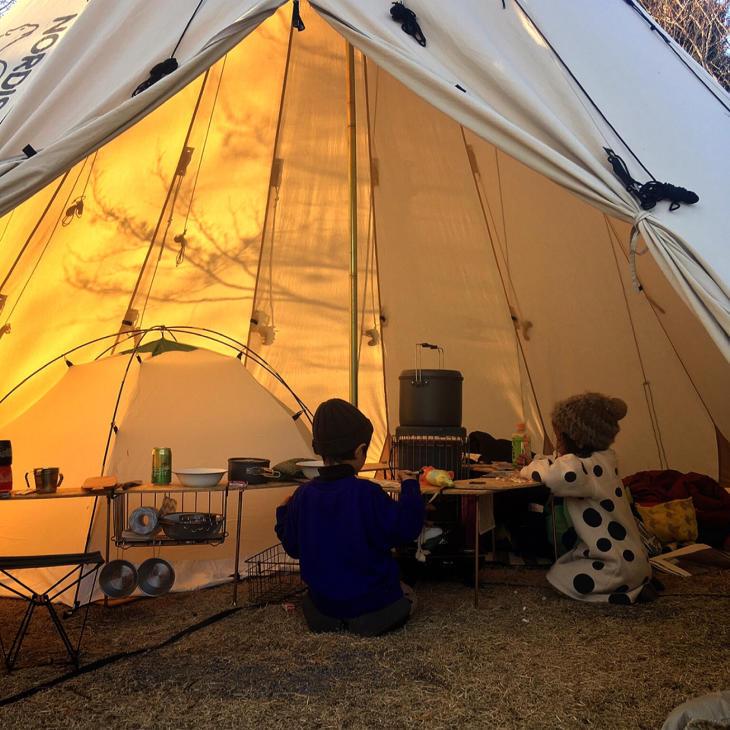 週末はキャンプへ。_a0127284_08490446.jpg