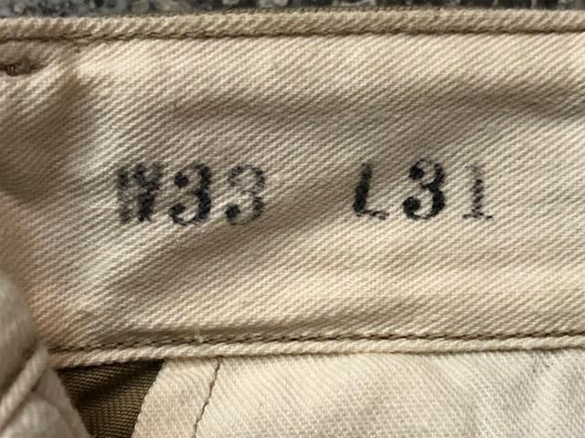 3月13日(水)マグネッツ大阪店ヴィンテージボトムス入荷!!#6 U.S.Army編! TigerStripe & M-41MetalButton、NOS M-45 DoubleStitch!!_c0078587_132827.jpg