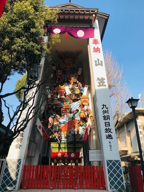 福岡博多日帰りの旅後半。@天神。警固神社。櫛田神社。中州。_a0050302_22195009.jpg